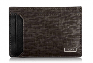 best gifts for men - tumi Monaco leather money clip