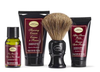 Best Gifts for Men - the art of shaving sandalwood mid size kit