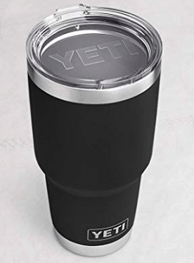 Best Gifts for Men - Yeti 30 ounce black tumbler