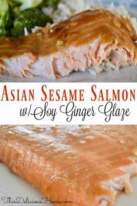 asian sesame salmon