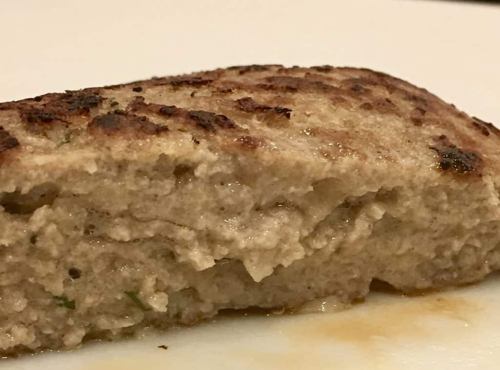 Classic Turkey Burgers on the Stove cut in half