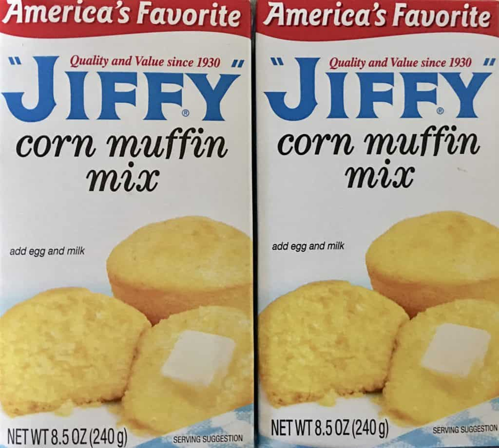 jiffy corn muffin mix.