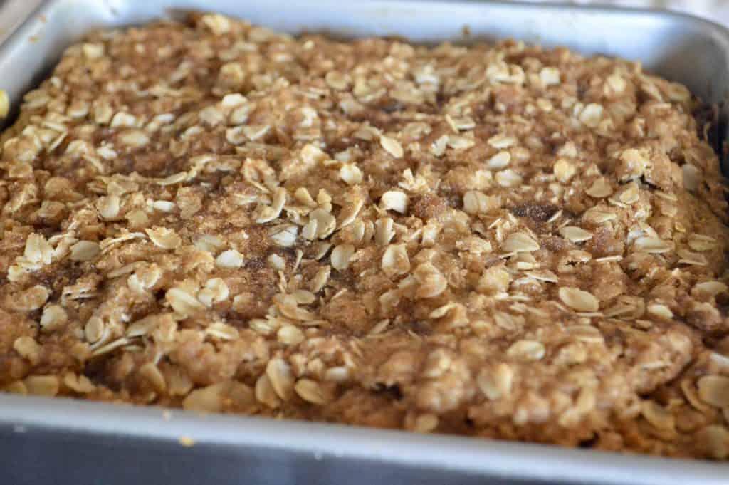 Full pan view of treat.