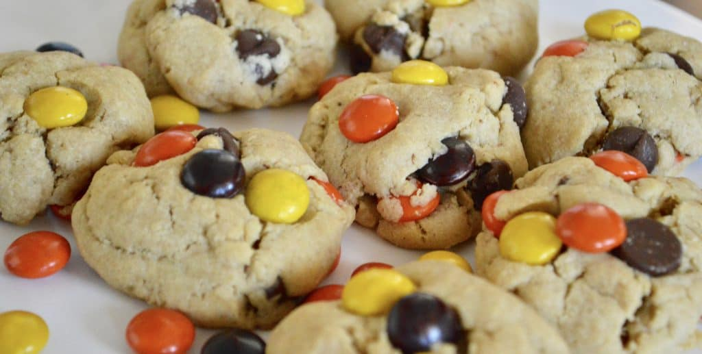 Reeses Pieces Peanut Butter.