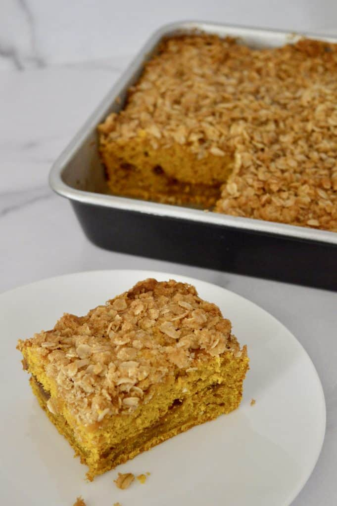 Pumpkin Streusel Coffee Cake This Delicious House