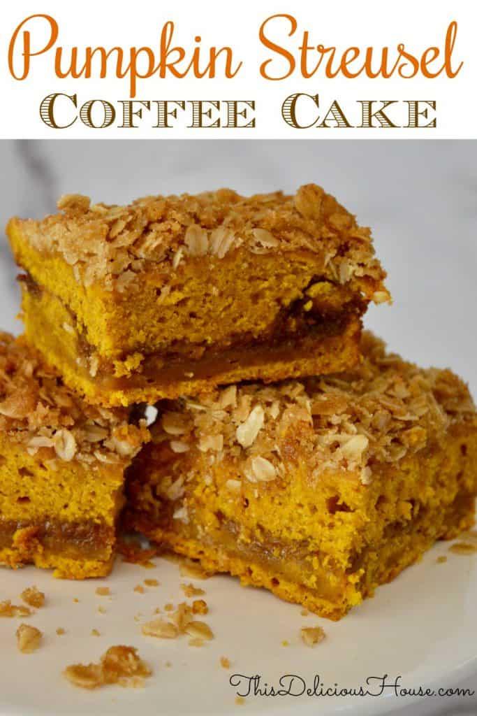 pumpkin streusel coffee cake pinterest.