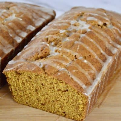 Glazed Pumpkin Bread | Better than Starbucks