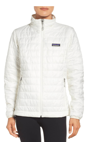 fit mom gift guide Patagonia nano puff water resistant jacket Nordstrom