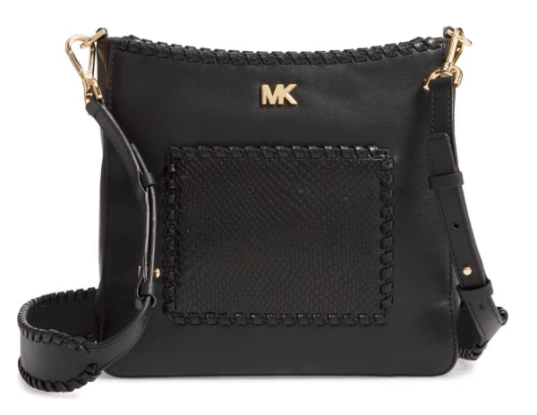 fit mom gift guide - Michael kors gloria leather crossbody Nordstrom