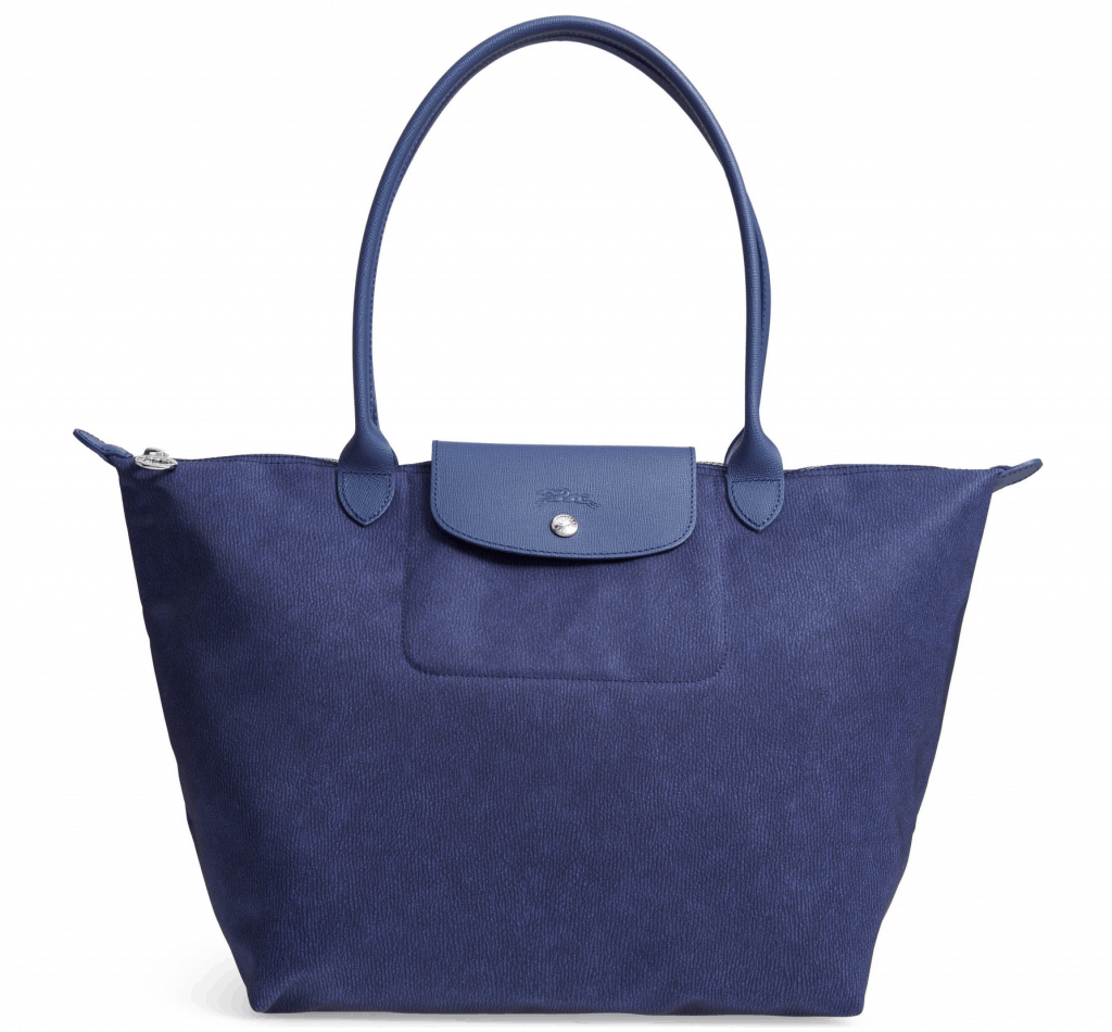 Longchamp is always a great addition to a fit moms gift guide