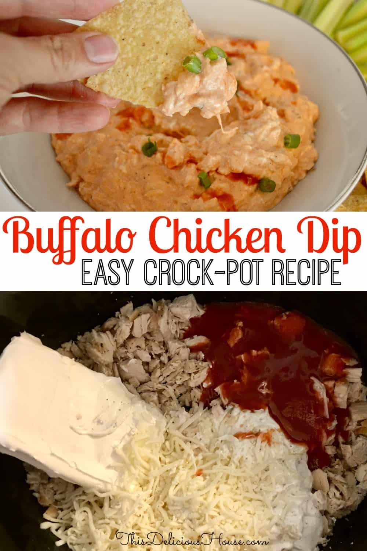 buffalo chicken dip Pinterest.