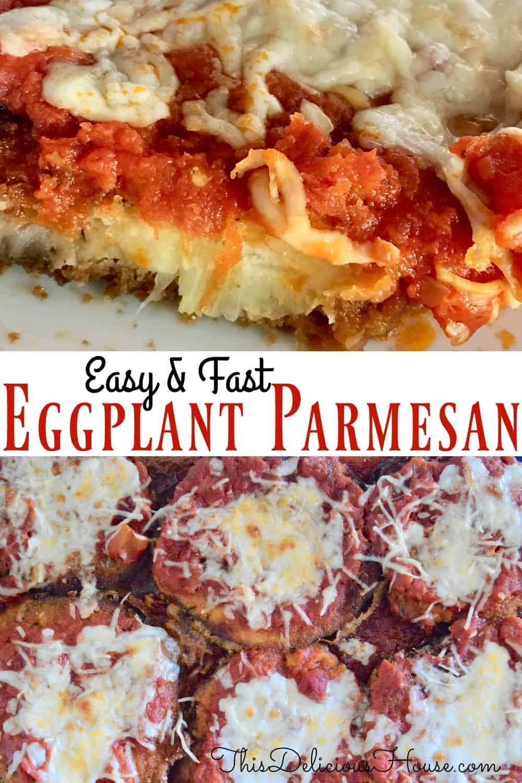 eggplant parmesan pinterest pin.