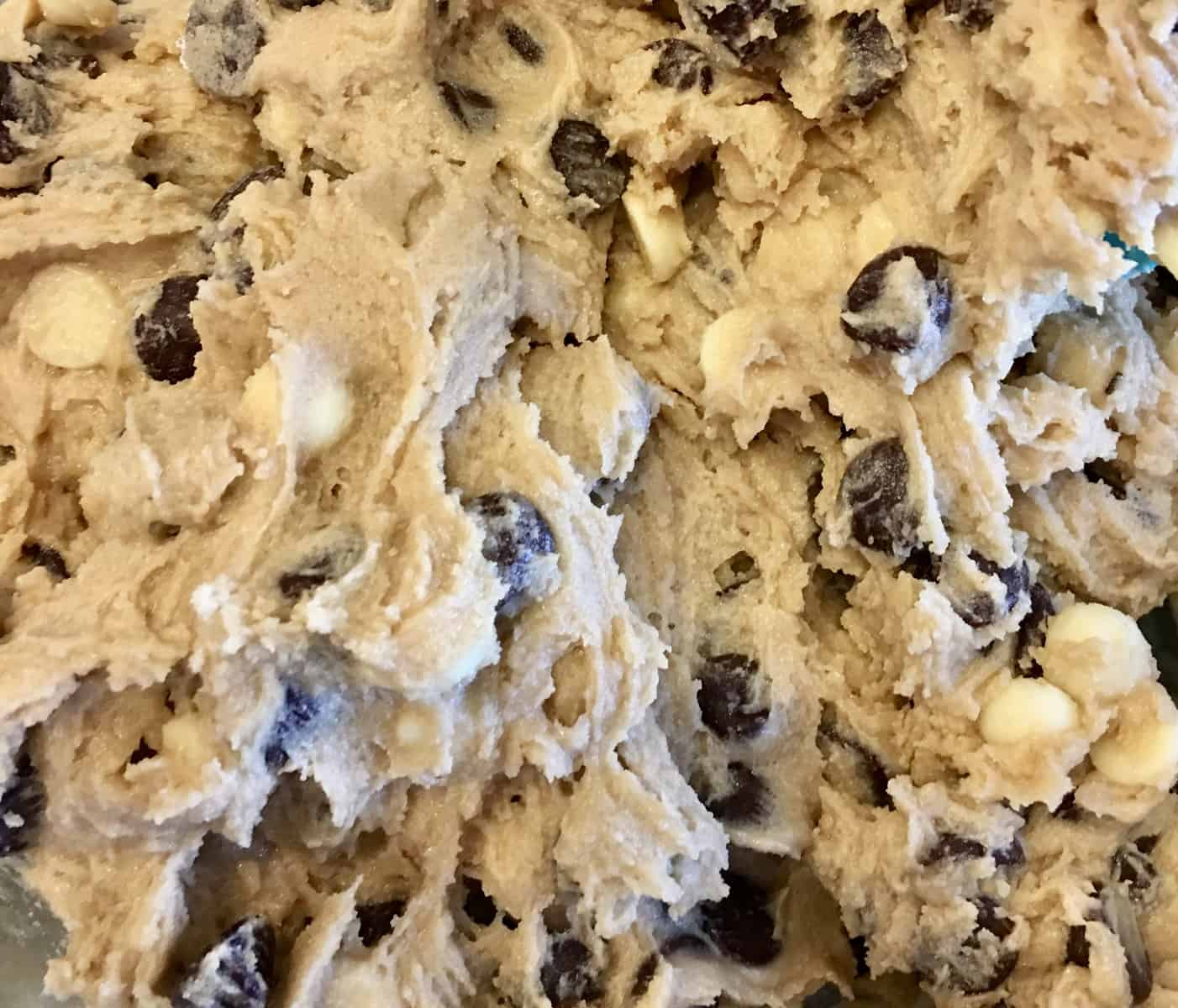 Cookie Bars with chocolate and white chocolate chips