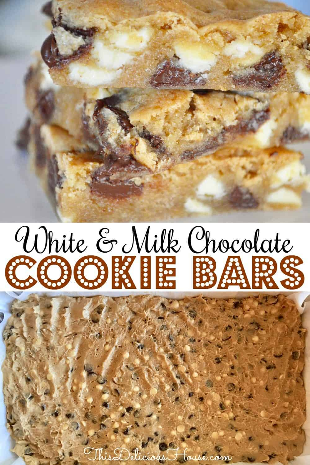 large batch cookie bars pinterest pin.