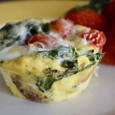 Kale Egg Breakfast Cups – Freezer Friendly