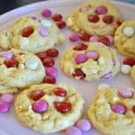 Valentine's Day M&M Cookies Recipe