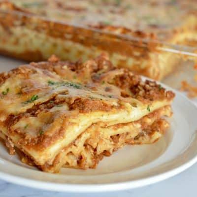 Easy Vegetable Lasagne Recipe | Hidden Veggies