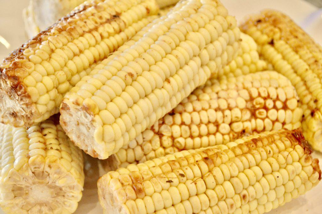grilled corn for budget bbq