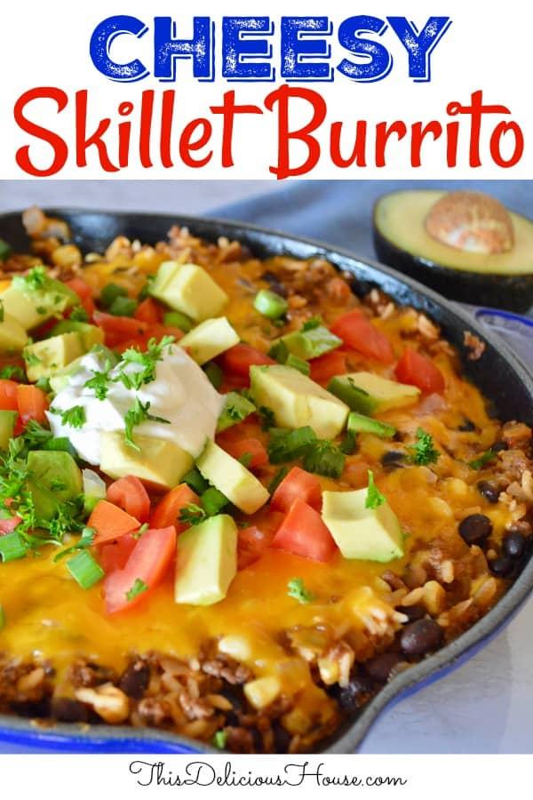 skillet burritos