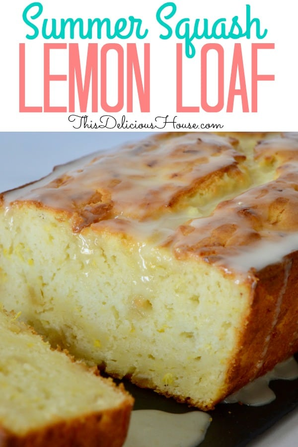 summer squash lemon loaf
