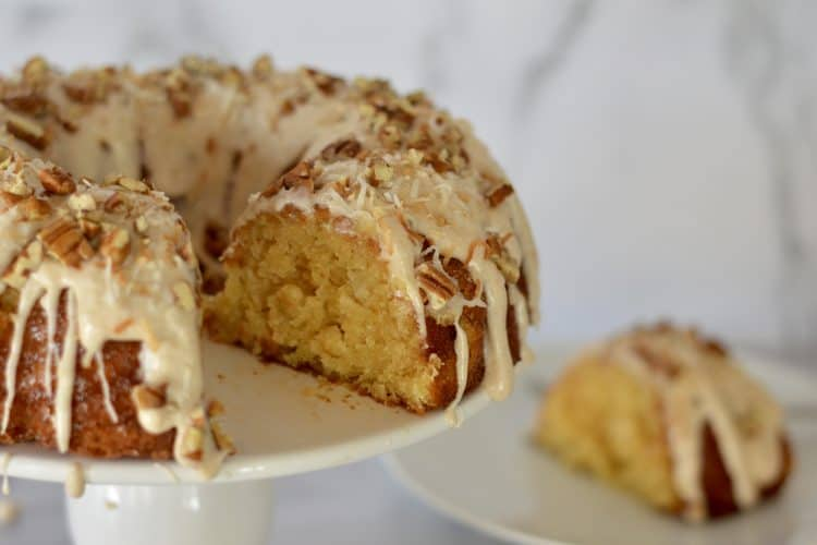 Pineapple Bundt Cake – Cream Cheese Frosting