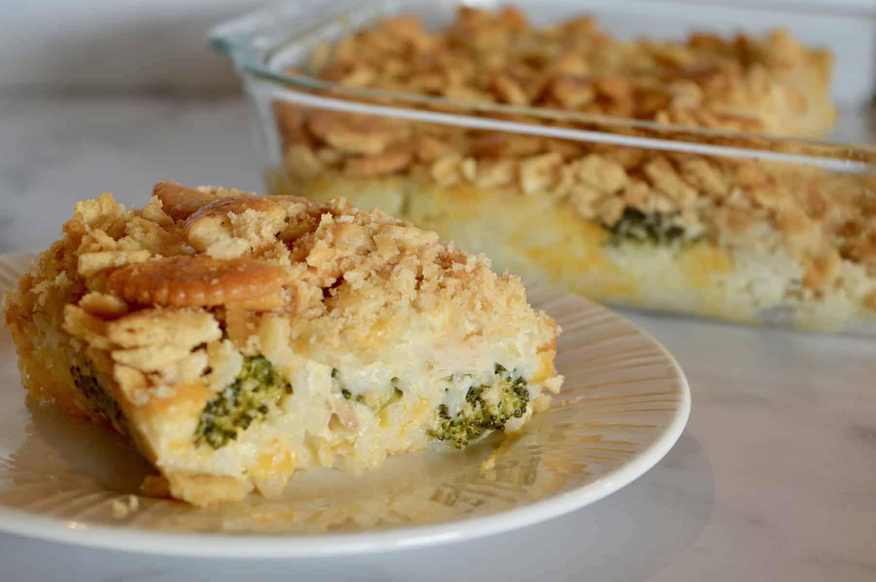 Broccoli Casserole Recipe With Ritz Crackers