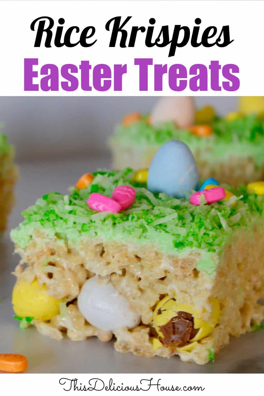 Rice Krispies Easter treats.
