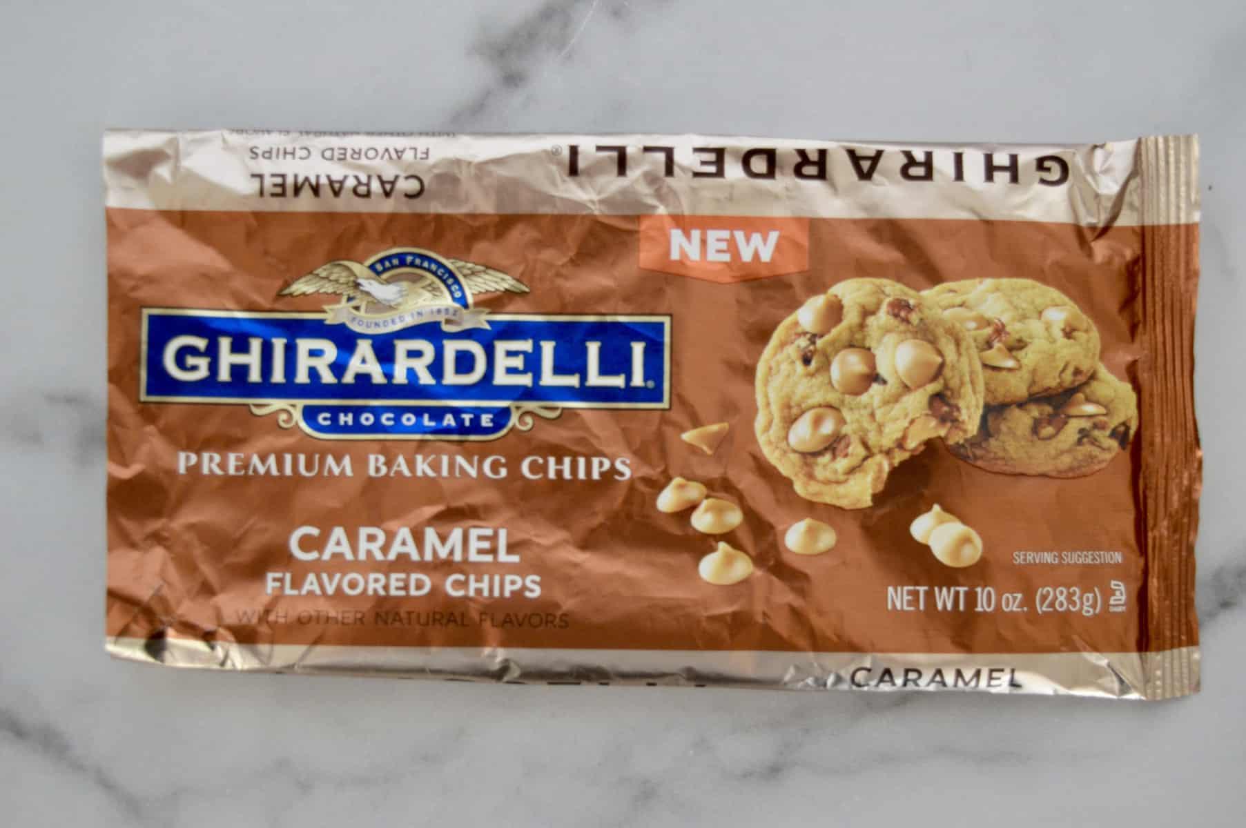 Ghirardelli Caramel baking chips
