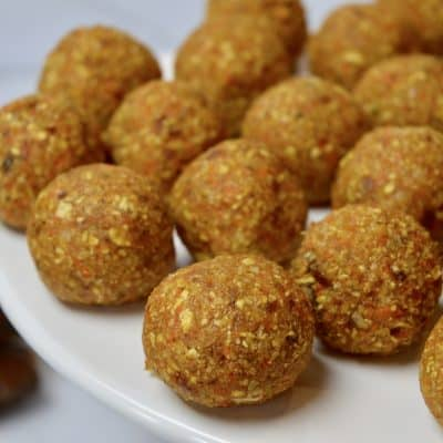 Carrot Coconut Energy Balls