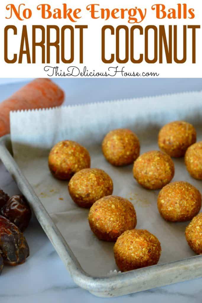 carrot coconut energy balls