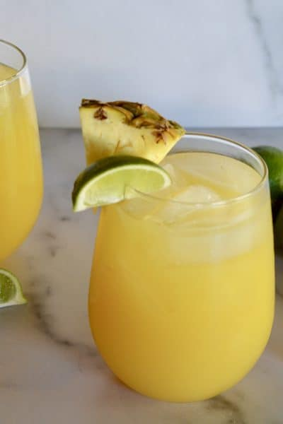 pineapple margaritas