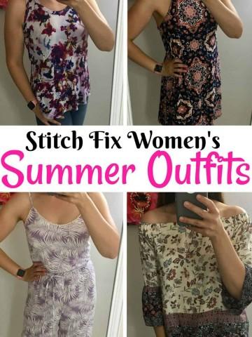 Stitch Fix Summer Outfits.