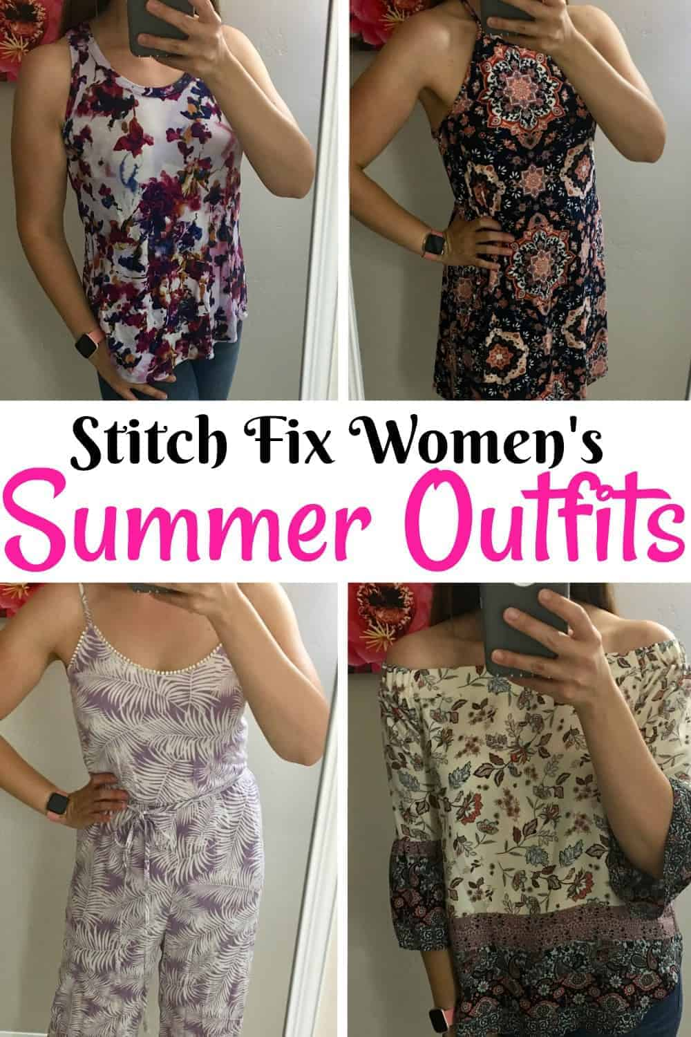 Cute Summer Outfits For Vacation: Stitch Fix Summer Outfits