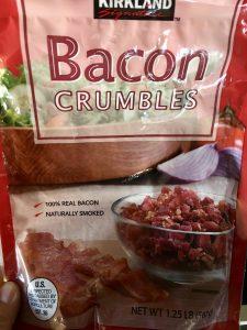 Kirkland brands Bacon crumbles.
