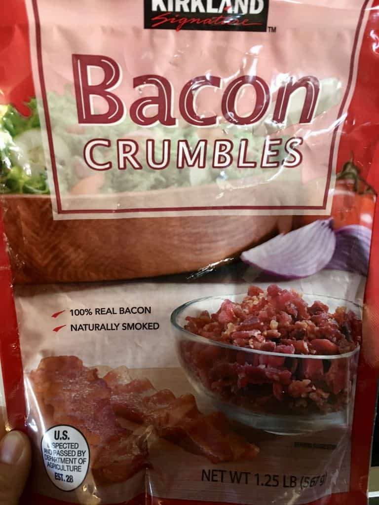Kirkland brands Bacon crumbles.