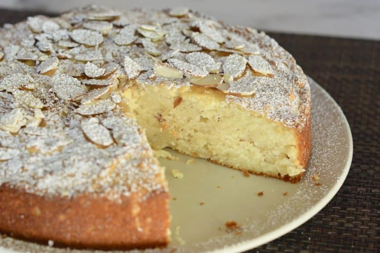 Almond Ricotta Cake | Italian Dessert