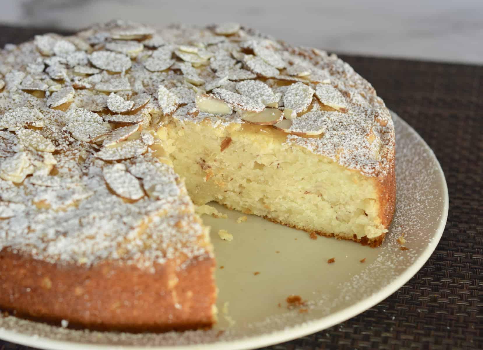 Almond Ricotta Cake Italian Dessert This Delicious House