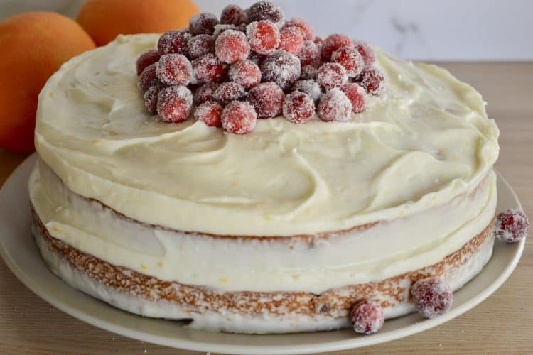 Cranberry Orange Spice Cake