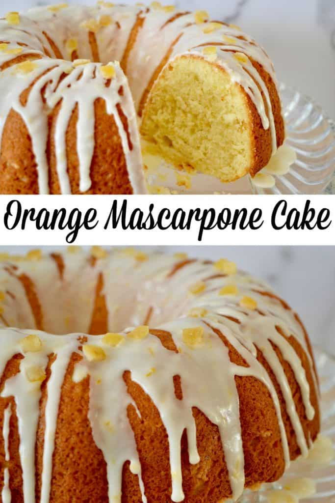 orange mascarpone ciambella pinterest pin.