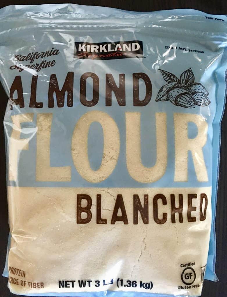 Kirkland Brand Almond Flour.