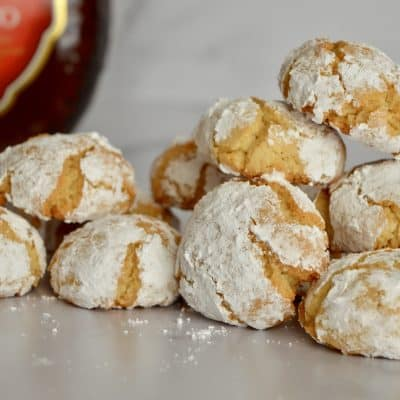 Amaretti Cookie Recipe | Italian Cookie