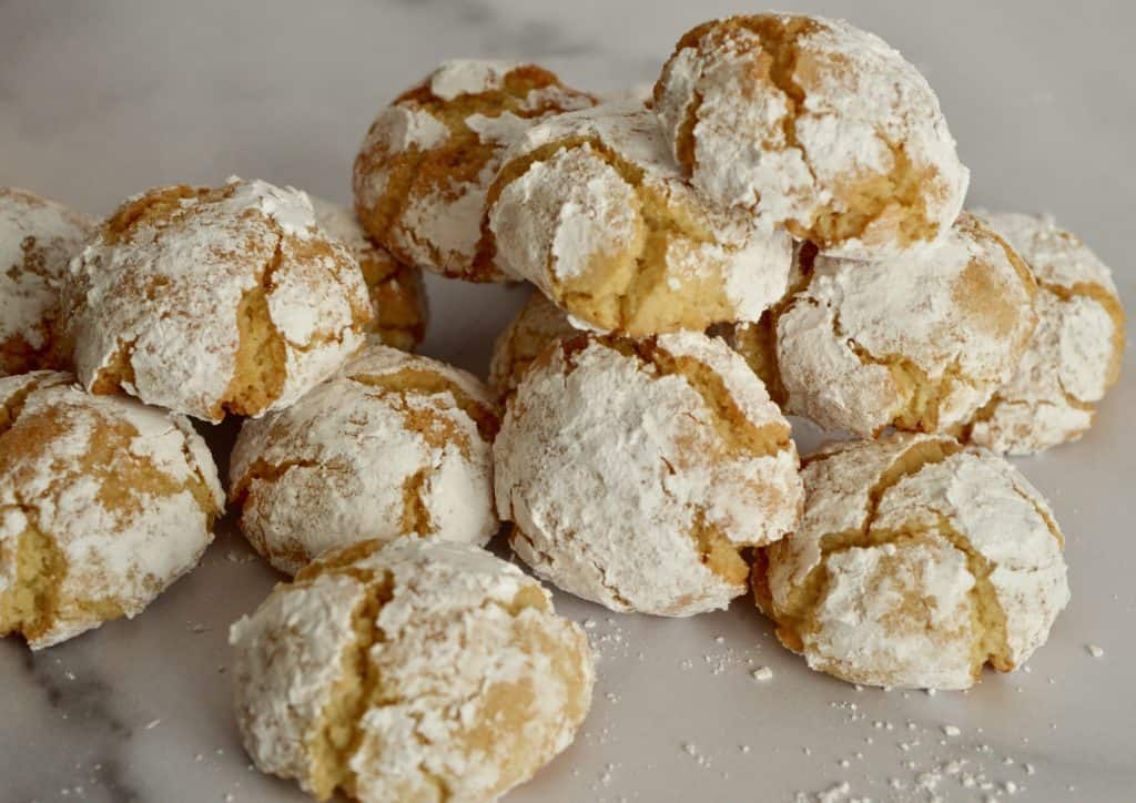 amaretti cookie recipe.