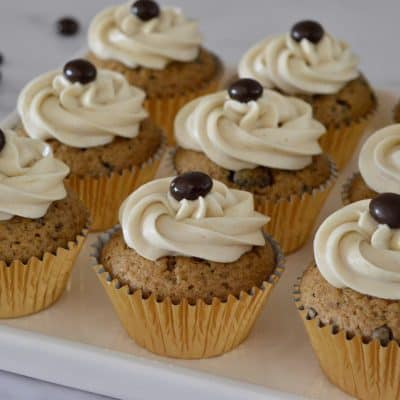 Espresso Cupcakes | Cream Cheese Frosting
