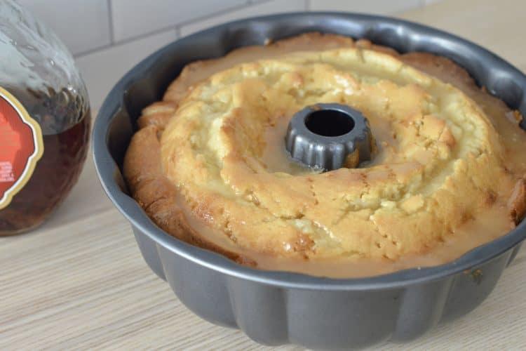 Amaretto Pound Cake | Amaretto Butter Glaze