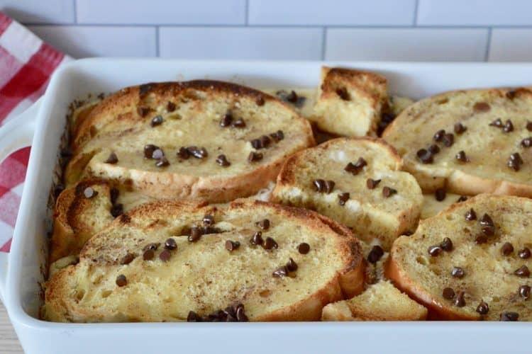 Cannoli Baked French Toast