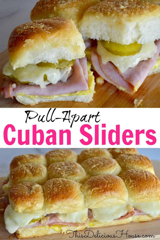 pull apart cuban sliders pinterest.
