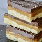 Salted Chocolate Caramel Squares