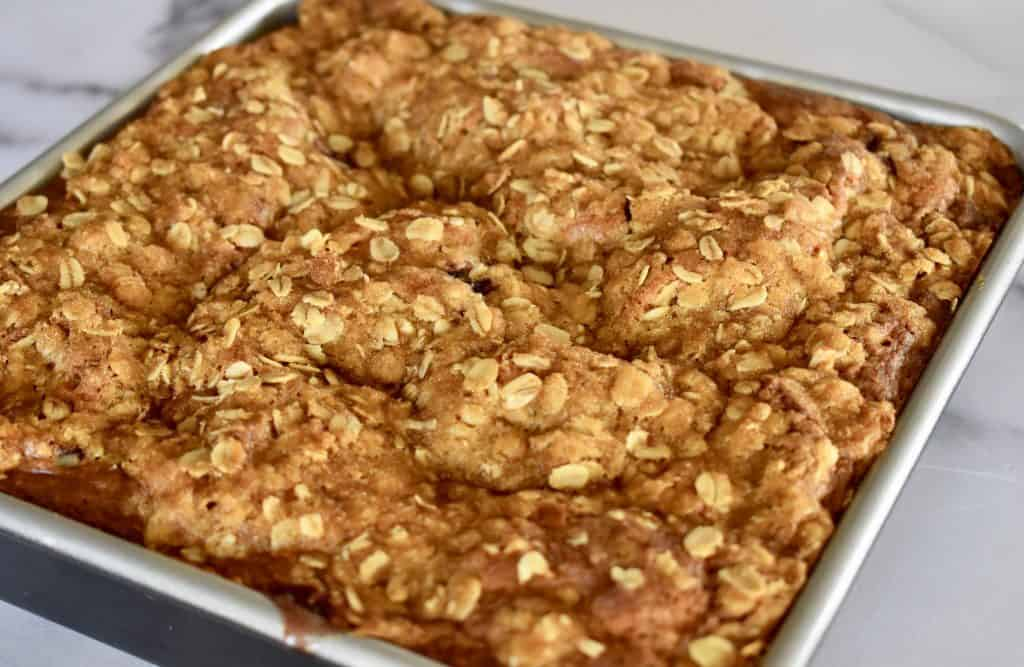 Oatmeal Streusel Topping.