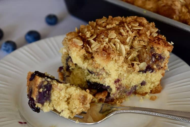 Blueberry Ricotta Coffee Cake
