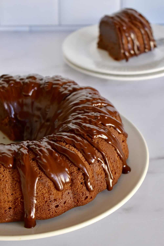 Chocolate Ricotta Bundt Cake.